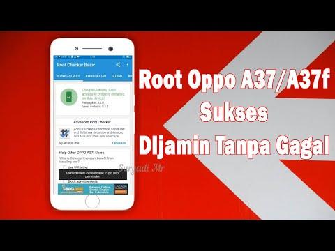 Cara Root Oppo A37f Tanpa PC.