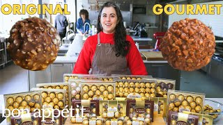 Download Pastry Chef Attempts to Make Gourmet Ferrero Rocher | Gourmet Makes | Bon Appétit Mp3 and Videos
