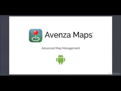 Avenza Maps Advanced - Map Management (Android)