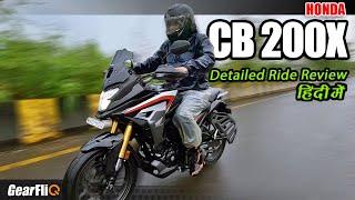 Download Honda CB200X - Comfortable Soft-Roader | Detailed Ride Review | Hindi | GearFliQ
