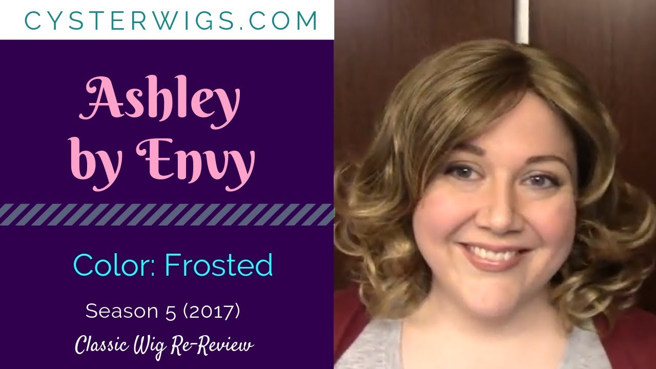Cysterwigs Wig Re Review Ashley By Envy Color Frosted Youtube