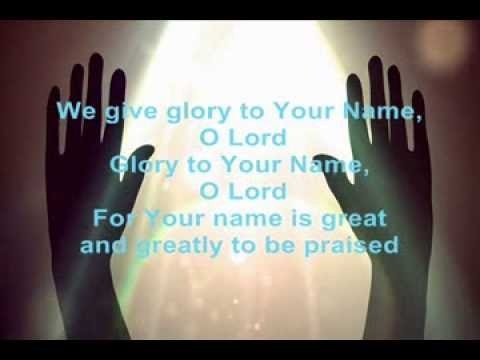 I Sing Praises To Your Name Instrumental (Terry MacAlmon) w/lyrics