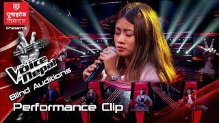 "Mechu Dhimal ""Pani Ko Foka""- The Voice Of Nepal Season 2 - 2019"