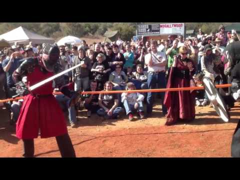 """Medieval Sword Fighting"" @ Solstice Festival (Video)"