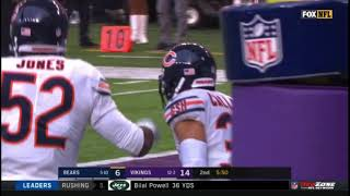 Chicago Bears Crazy Trick Punt Return! | Bears vs. Vikings | NFL