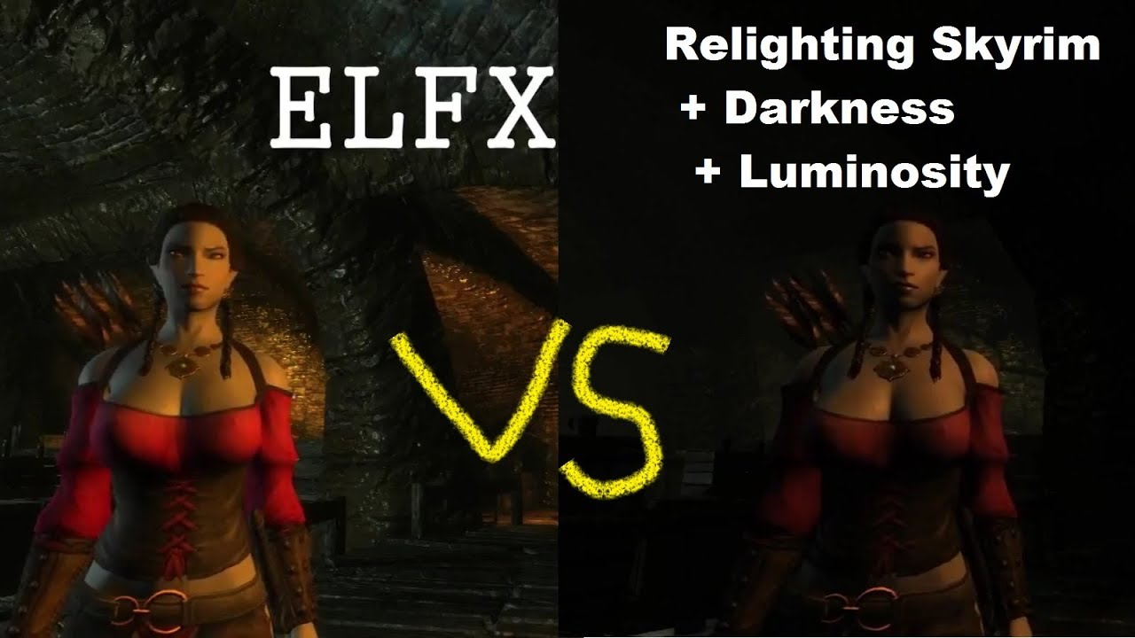 Relighting Skyrim + Darkness + Luminosity - Skyrim Mod Showcase