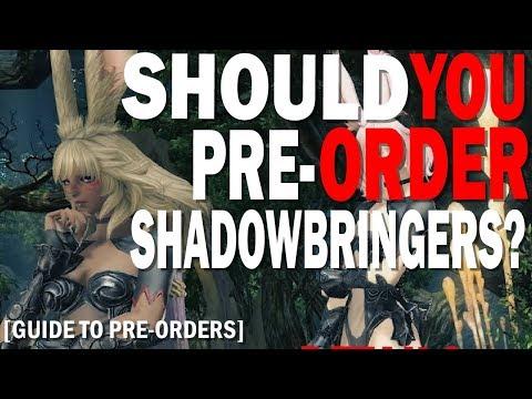 FFXIV Shawdowbringers Pre-Order Guide | When Should You Pre-Order