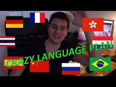 Dutch Polyglot speaks 10 Languages - [incl. subtitles]