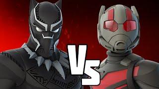 Black Panther VS Ant Man - Marvel Battlegrounds
