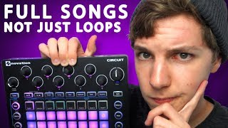 How to make FULL SONGS on the Novation Circuit