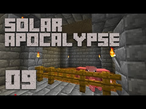 ►Solar Apocalypse LP: OINK OINK! | Ep. 9 | Modded Minecraft Survival◄
