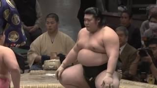 宇良 vs 小柳 平成29年1月場所7日目 2017年1月14日 2017 JP ...