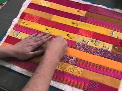 How to Layer a Quilt Sandwich - YouTube : putting a quilt sandwich together - Adamdwight.com