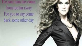 Celine Dion ft. Stevie Wonder - Overjoyed (Lyrics) 2013