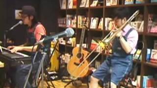2009年4月12日(日)にタワーレコード渋谷店にて行われた、ハシケンハマ...