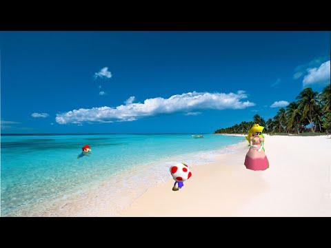 Super mario 64 bloopers:mario's vacation