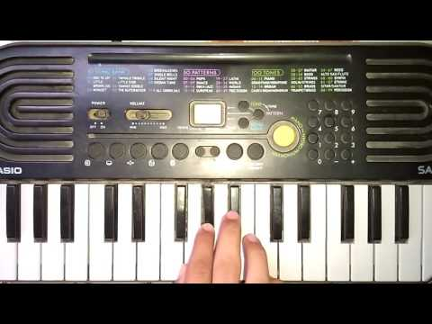 Mere Dholna Sun On Piano Part 1