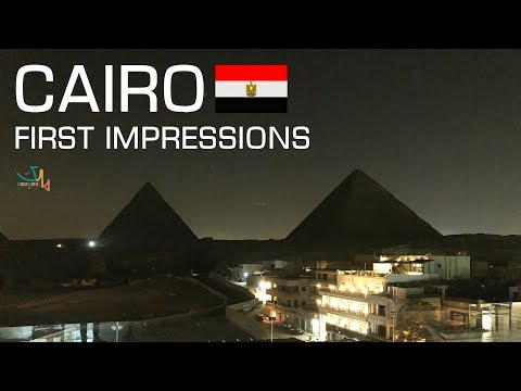 First Impressions of Cairo, Egypt