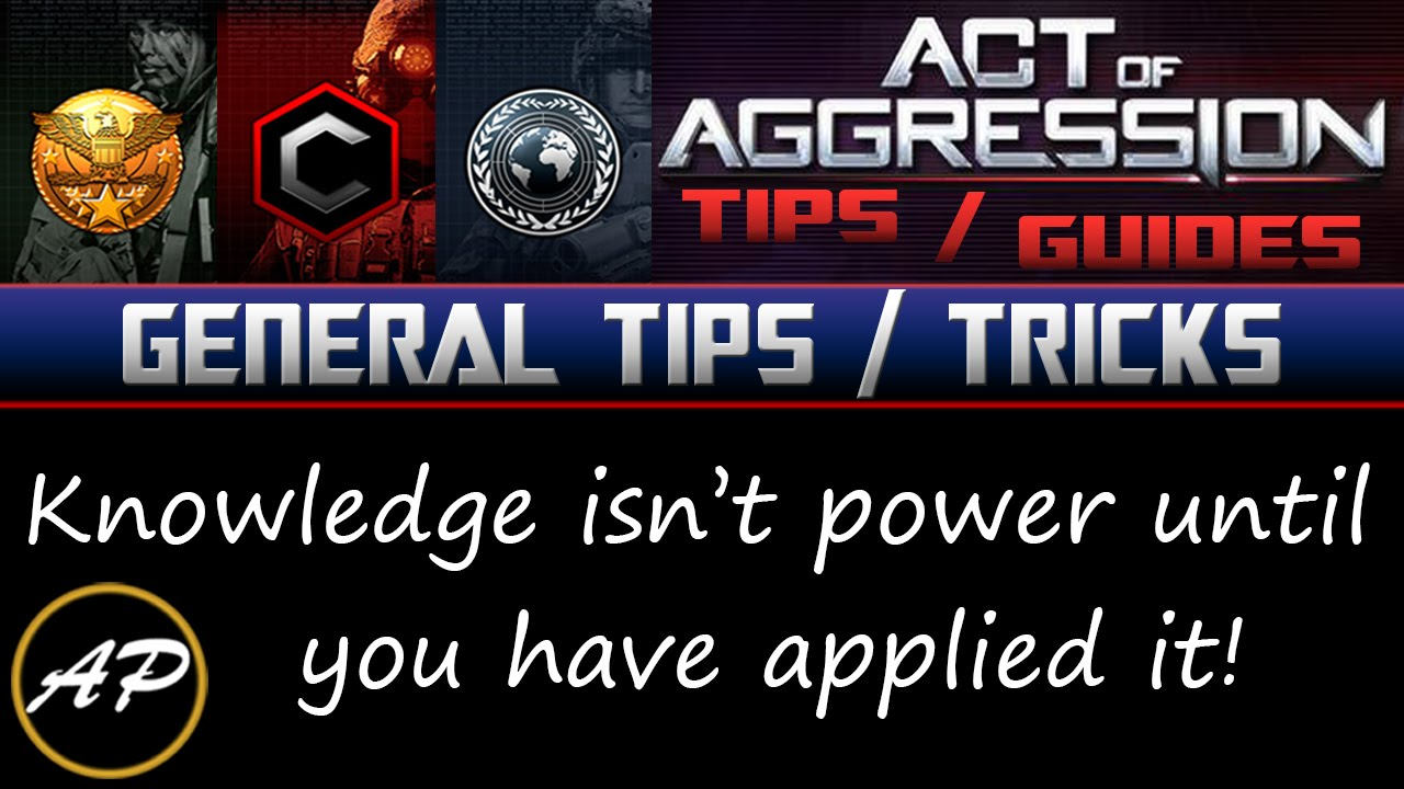 General Tips and Tricks