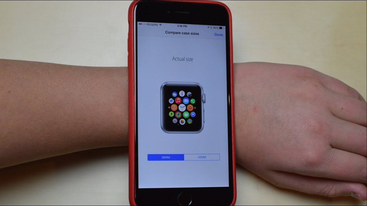 Compare Apple Watch Actual Sizes - YouTube