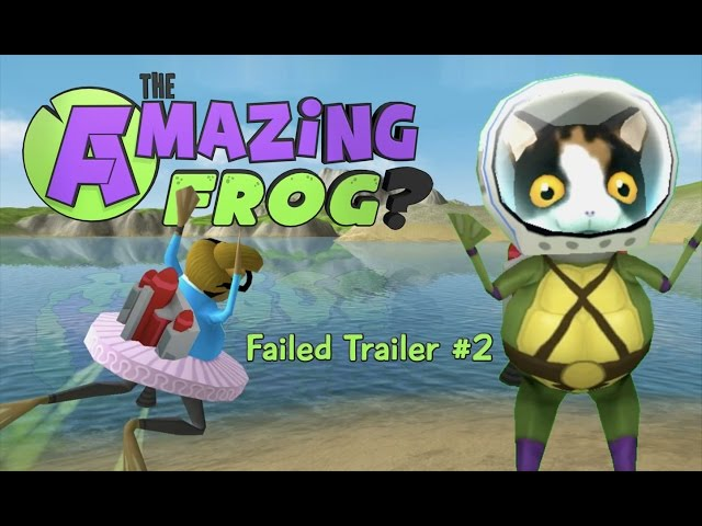Amazing Frog? failed Trailer #2