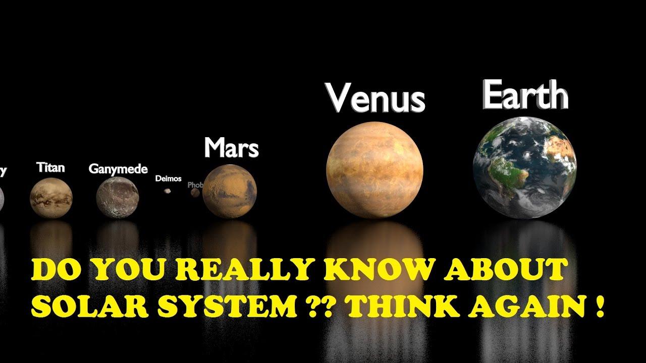 Our solar system in Hindi हमारा सौर मंडल !!