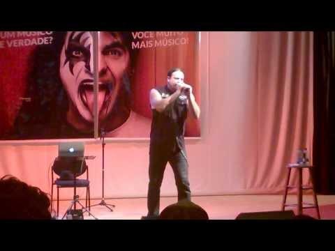 Russell Allen - Of Sins and Shadows (Symphony X) Workshop em Brasília 16/03/2014