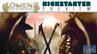 Omen: Heir to the Dunes Preview by Man vs Meeple (Kolossal Games)