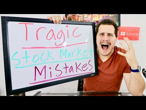 Top 10 Mistakes Stock Market for Beginners!