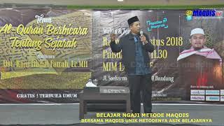 RINGKASAN JURUS 1 -  6 surat Al Ikhlas -Belajar Alqur'an metode maqdis
