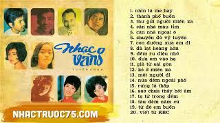 20 Bài Nhạc Vàng Chọn Lọc Bất Tử - Thu Âm Trước 1975