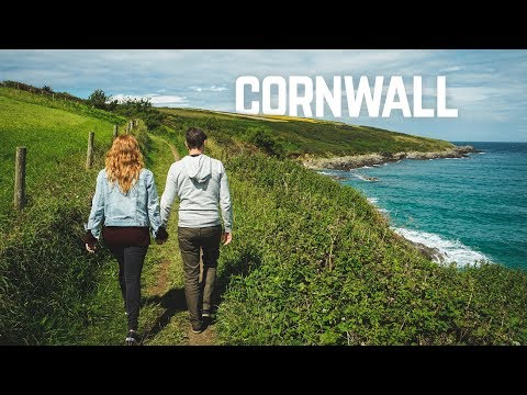 Cornwall is BEAUTIFUL! 😍 (Hiking in Cornwall, England)
