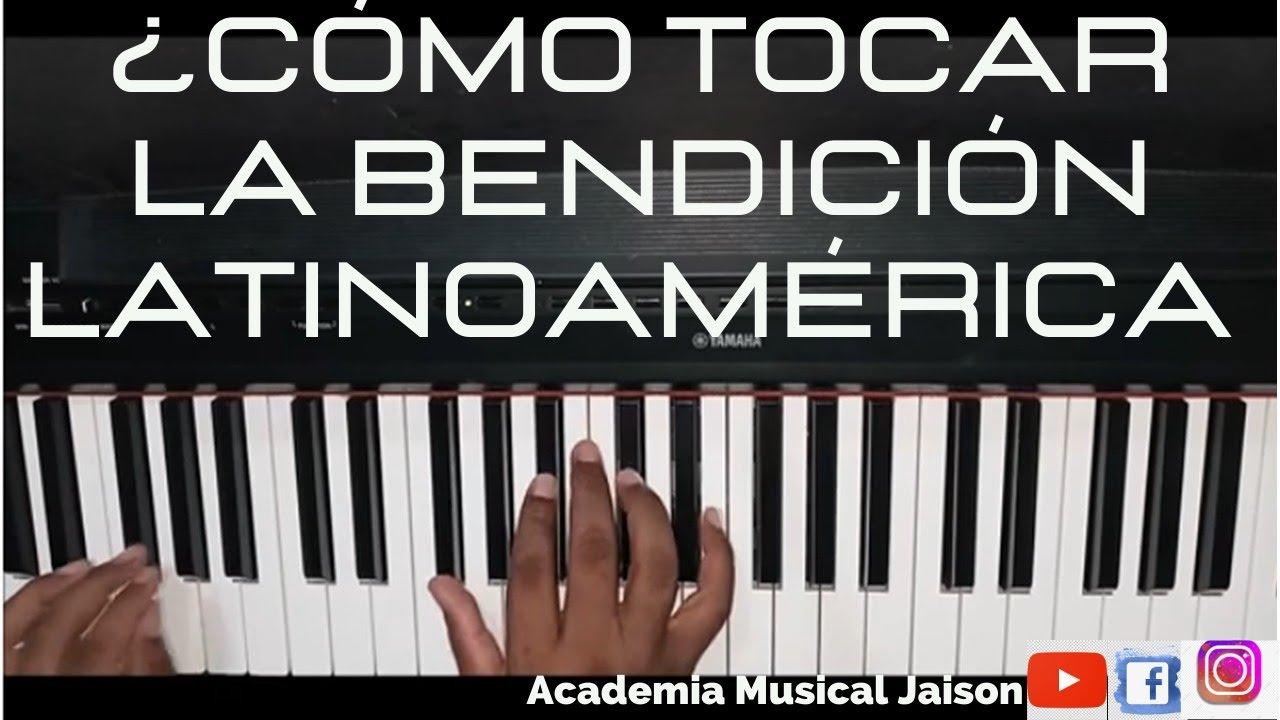 Tutorial Piano, la bendición, progresión en varias tonalidades, The Blessing - Elevation Worship