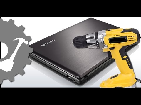 Lenovo G570 Laptop Hinge Repair / How to repair a broken laptop hinge