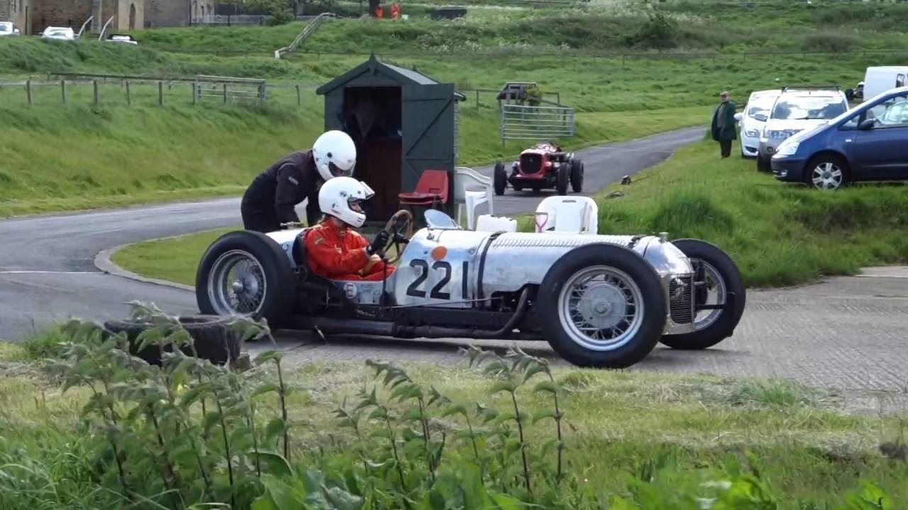 very old racing car with Jap engine - YouTube