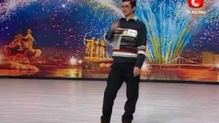 Україна має талант! 2010 Самые Смешные  Сергей Пыриг  Эксперементальный Авторский РЭП(, 2010-03-16T15:04:46.000Z)
