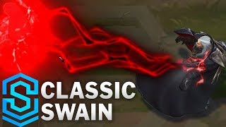 Classic Swain, the Noxian Grand General - Ability Preview - League of Legends