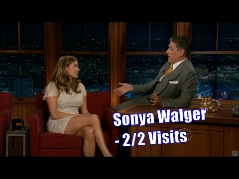 Sonya Walger  Short Colorful Dresses  22 Visits In Chronological Order 720p
