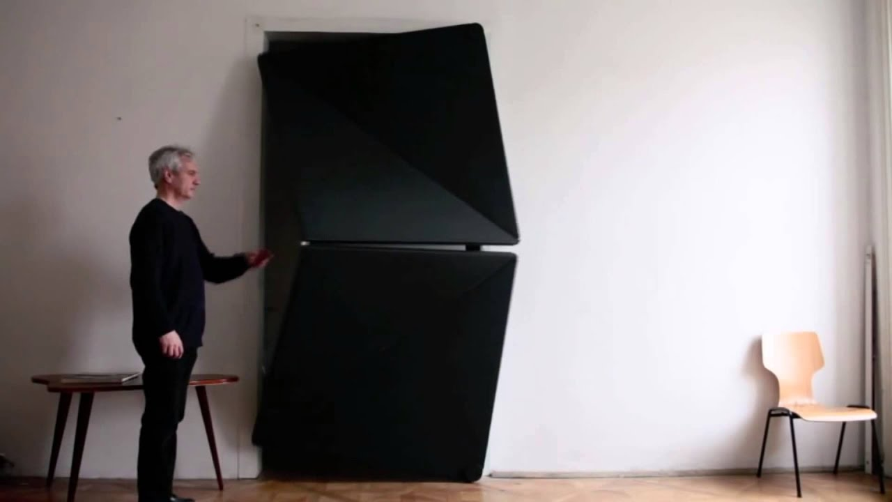 & Unique door opening system - YouTube