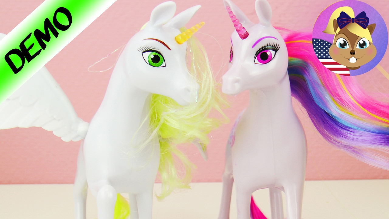MIA AND ME Onchao and Flair in Comparison  Two cool UNICORNS ONO
