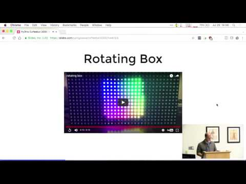 Coffeebot 3000 - An IoT story with a RaspberryPI, Redis, LEDs, and Mario