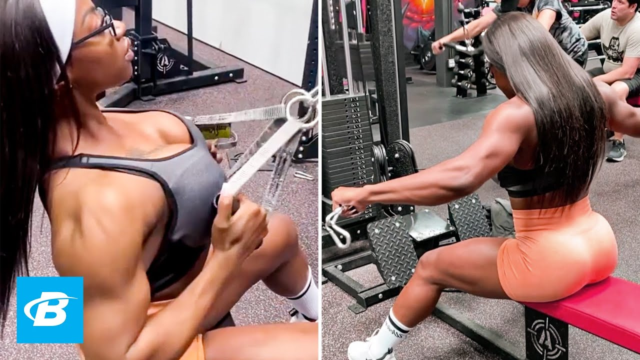 2x Ms Physique Olympia Back and Shoulder Workout | IFBB Pro Shanique Grant #shorts