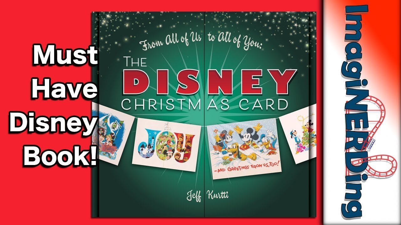 The Disney Christmas Card book by Jeff Kurtti From All of Us to All ...