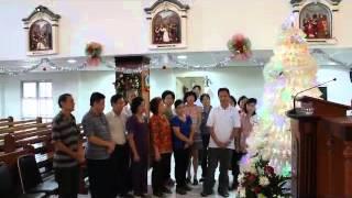 Dekorasi Natal 2014 Wilayah Stasi Andreas Kim Tae Gon gereja Santo Yakobus Kelapa Gading