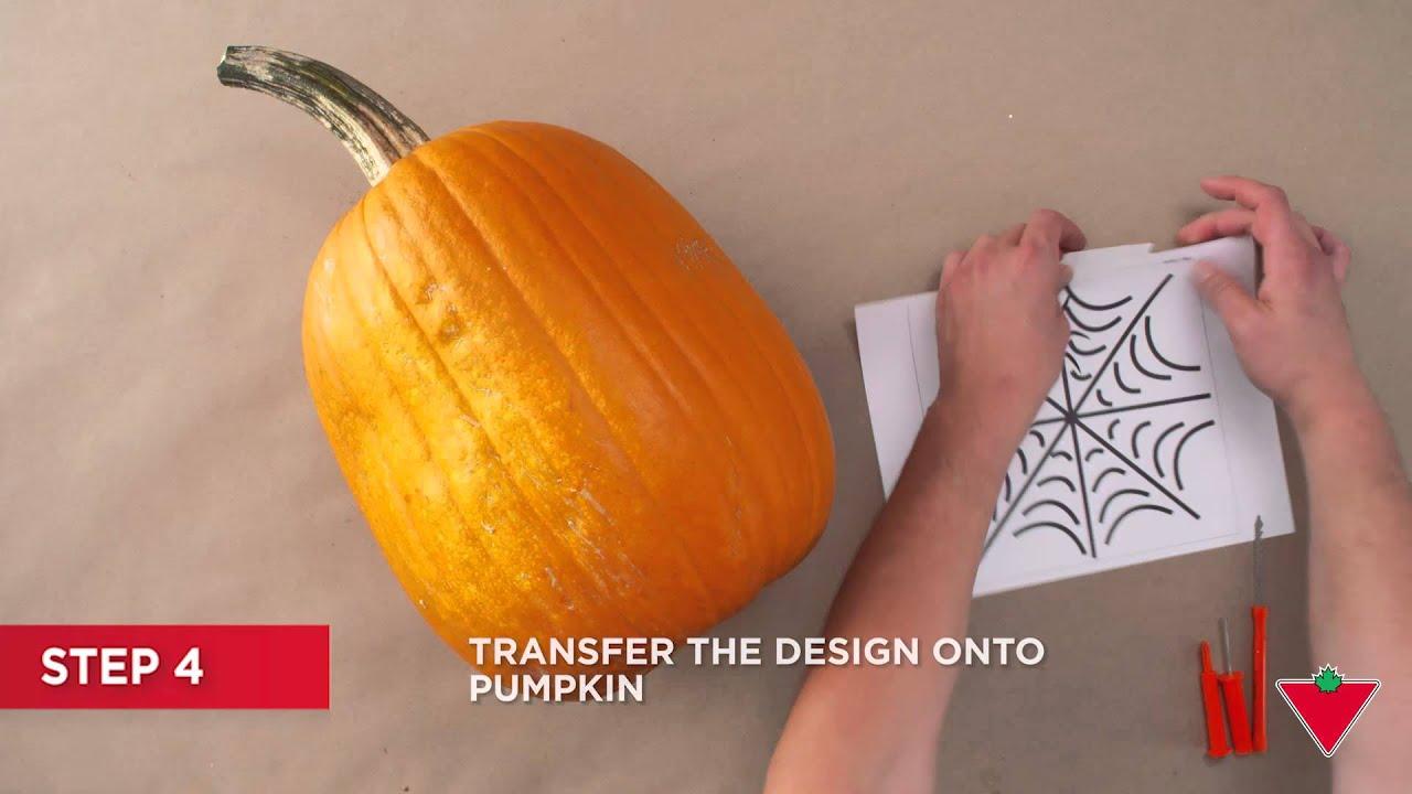 How to Carve a Pumpkin Scrape 7 Steps