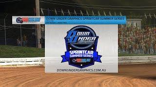 Down Under Graphics Sprintcar Summer Series - Round 4