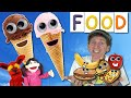 Yummy Food Song | Chocolate & Strawberry Ice Cream | Learn With Matt English for Kids