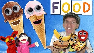 Ice Cream Smoothie - Yummy Food Song | Chocolate & Strawberry Ice Cream | Learn With Matt English for Kids