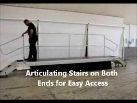 Work Platforms, Safe Work Platforms, Advance Lifts Articulating Steps