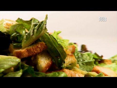 Caesar Salad - Sanjeev Kapoor's Kitchen